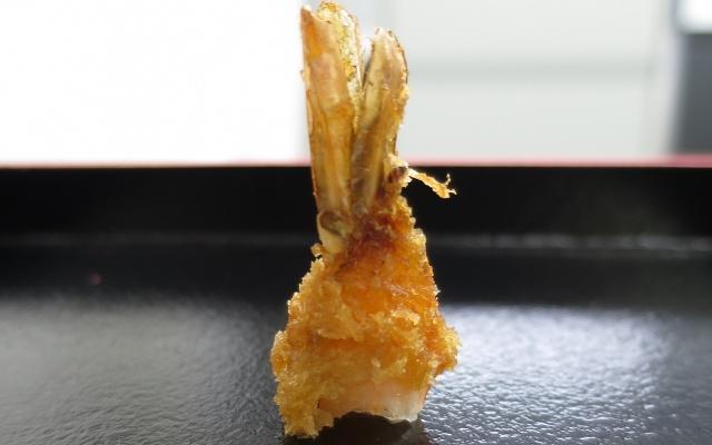 エビフライの尻尾