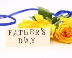 父の日のバラ