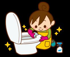 トイレ便器掃除