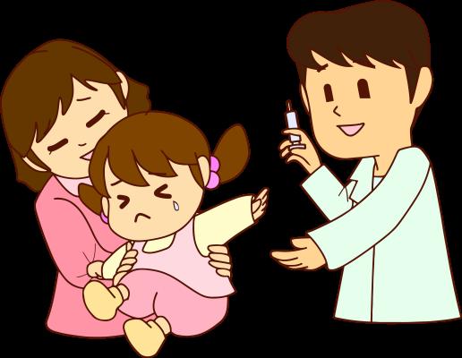 子どもの予防注射