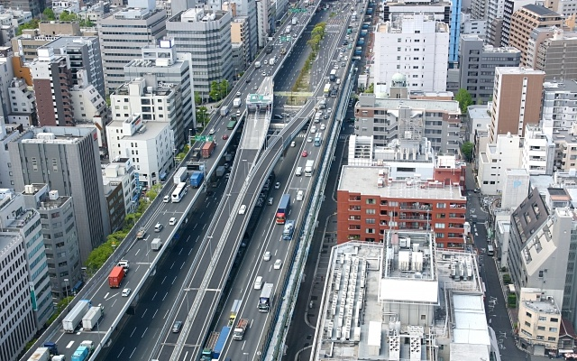 高速の渋滞情報