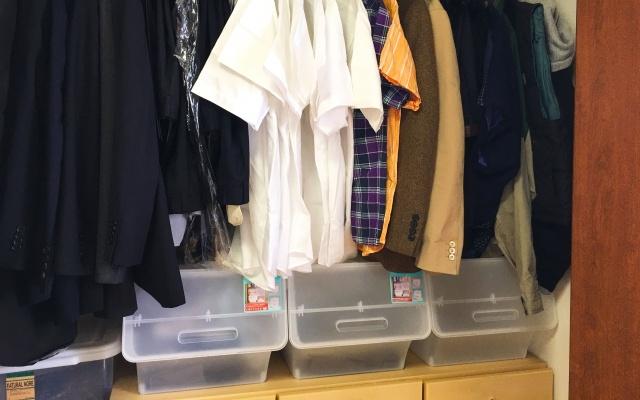 衣替えの収納
