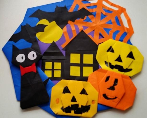 ハロウィンの飾り付けは子供と手作りで簡単に作ろう!100均もあり