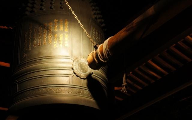初詣の除夜の鐘