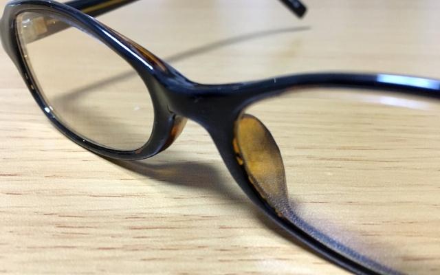 メガネで対策
