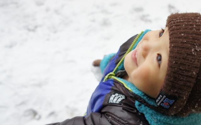 子どもの寒さ対策