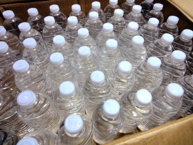 備蓄用の水