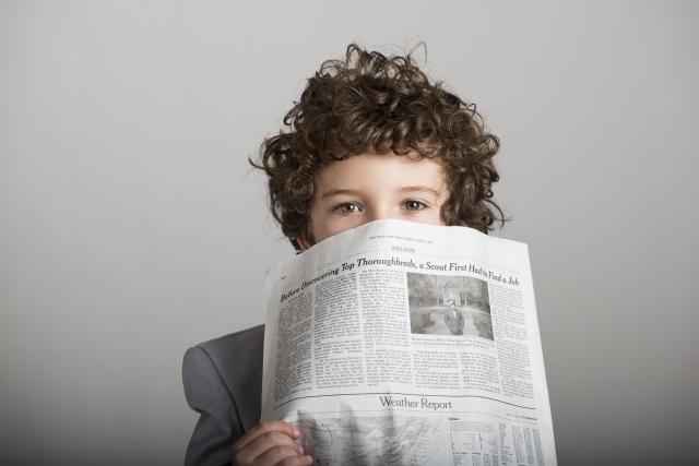 新聞紙で結露対策